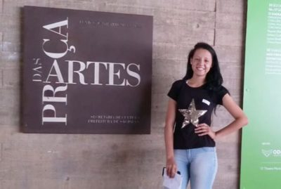 Jovem itapevense é selecionada em Curso de Ballet da Escola de Dança do Theatro Municipal de São Paulo