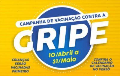 Campanha contra a Gripe vacinará crianças e, depois, idosos