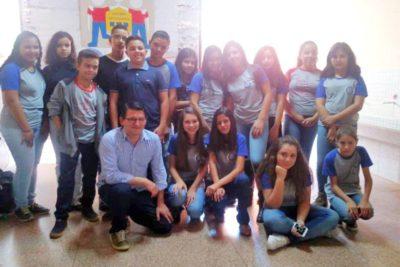 Escola João Gilberto realiza posse do Grêmio Estudantil 2019