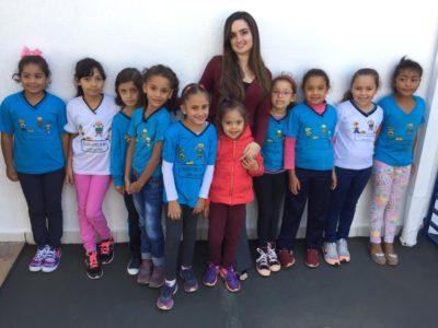 Alunos da escola E. M. Oliva Gomes de Melo visitam o Ita News