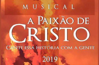 Musical A Paixão de Cristo será dias 19 e 20 de abril