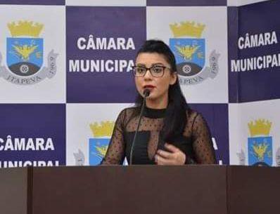 Débora Marcondes pede intervenção do Ministério Público para pagamento da Insalubridade para os servidores braçais