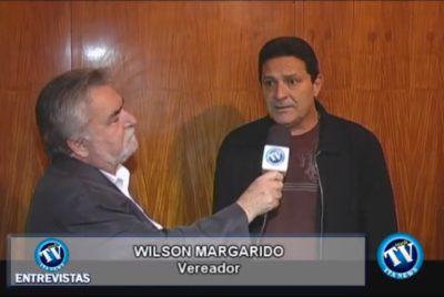 TÚNEL DO TEMPO: Kiko Carli entrevista vereador Margarido – 07/10/2009