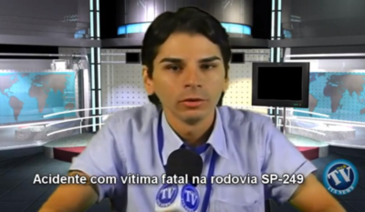 Sgt. Alves fala sobre acidente com vítima fatal na SP-249 — 02/05/2012