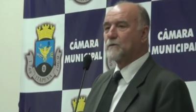 Túnel do tempo: Posse do Prefeito Luiz Cavani