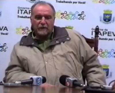 Túnel do tempo: Entrevista coletiva do prefeito Luiz Cavani 16/12/10