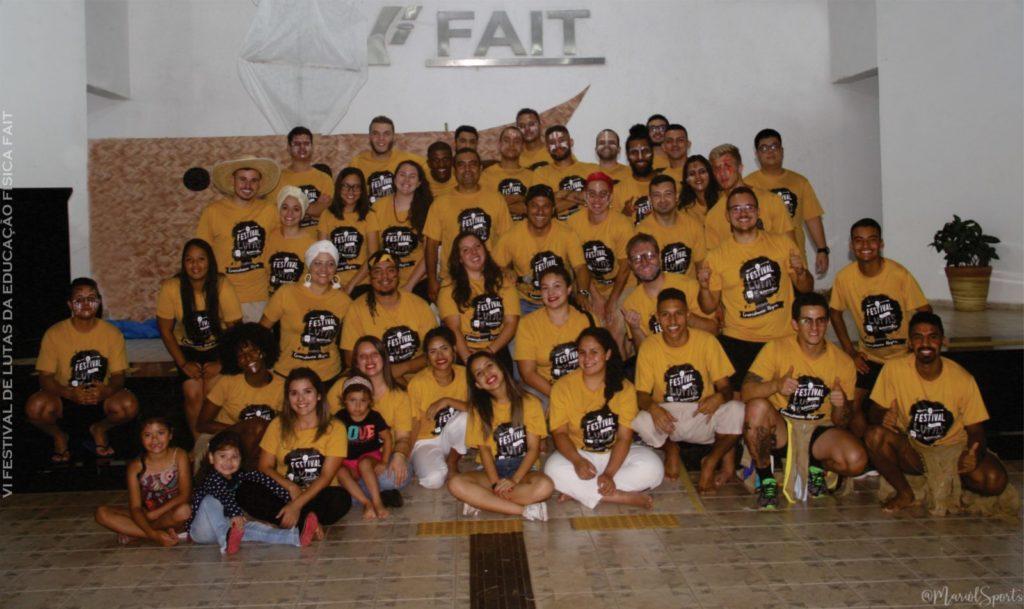 Educação Física da Fait realizou 6º Festival de Lutas