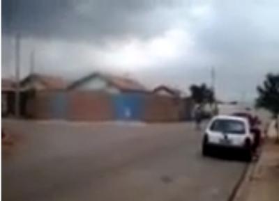 Túnel do tempo: Tornado na cidade de Itapeva – SP (19/10/14)