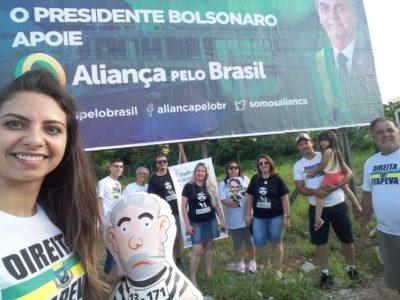 Grupo Direita Itapeva divulga partido Aliança pelo Brasil