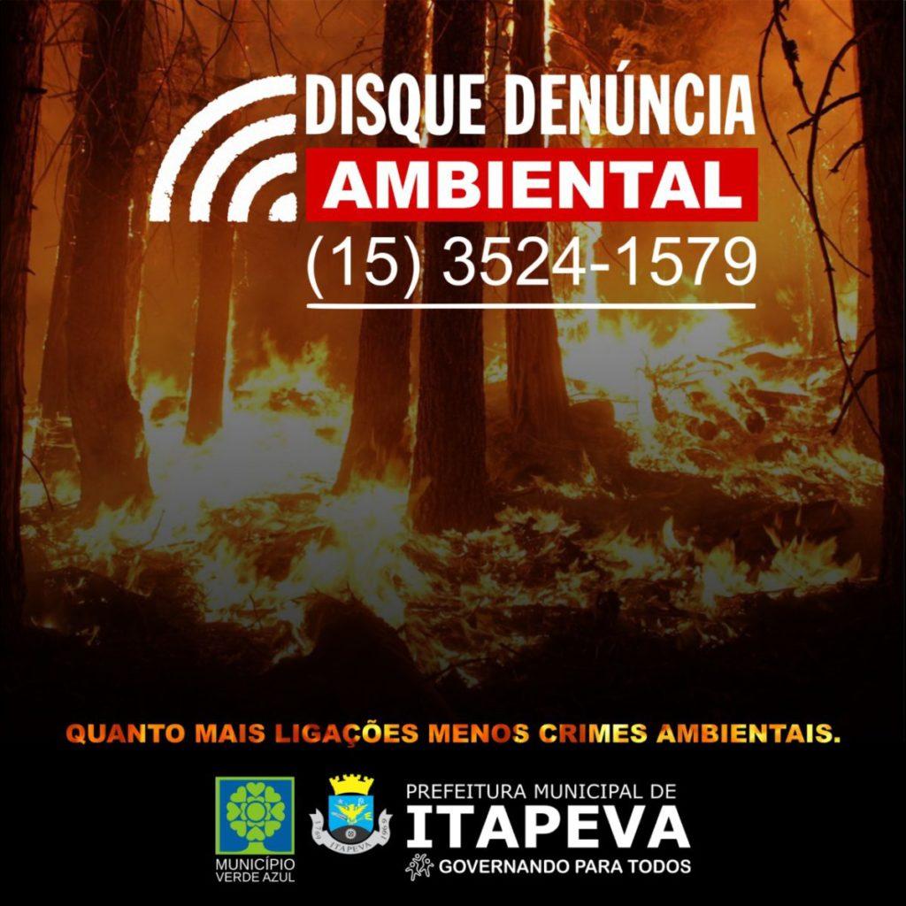 Secretaria do Meio Ambiente disponibiliza serviços de disque denúncia por telefone