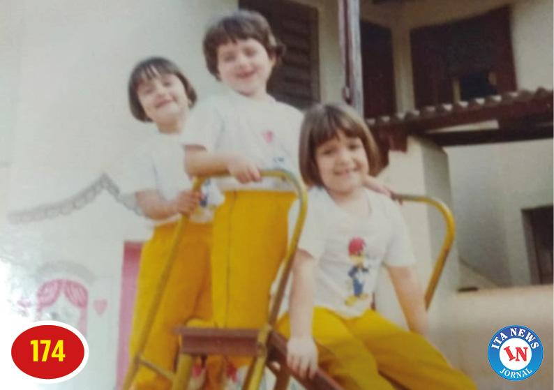 Ana Paula Schimidt, Bárbara e Rafaelli César - Escola Pica Pau Amarelo 1991