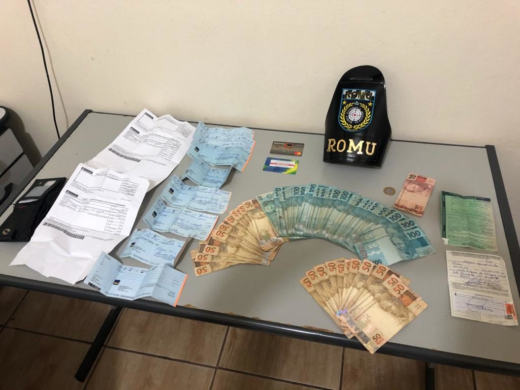 Guarda Municipal detém suspeito de se apropriar indevidamente de R$ 17 mil