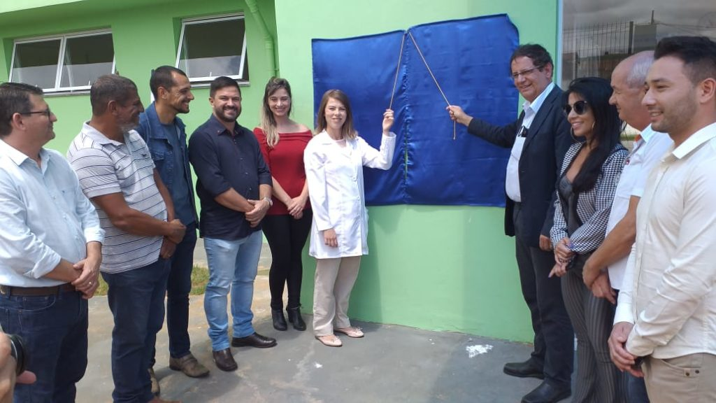 Inaugurada Unidade Básica de Saúdedo Residencial Morada do Bosque