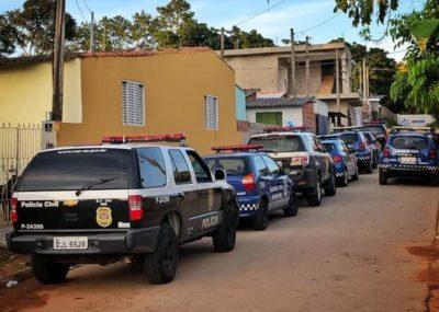 Policiais de Itapeva auxiliam em cumprimento de mandados na cidade de Itararé