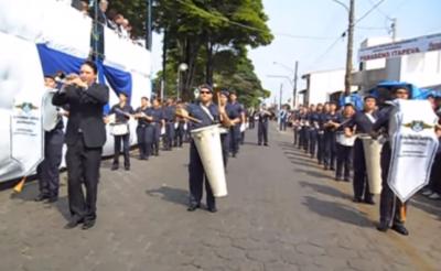 Túnel do tempo: Fanfarra da GCM de Itapeva-SP – Desfile de Aniversário do Município (20/09/2010)