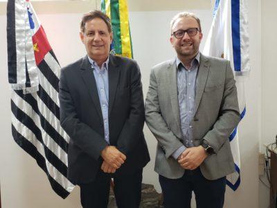 Gestor do AME se reúne com o prefeito Mário Tassinari