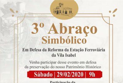 """Grupo promove terceiro """"Abraço"""" pela reforma da estação ferroviária de Itapeva"""
