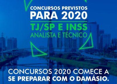 Excelentes oportunidades de concursos em 2020
