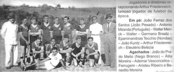 CURIOSIDADES ITAPEVENSES:O dia que Itapeva recebeu o primeiro craque da seleção brasileira de futebol