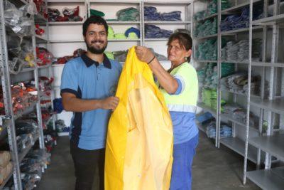 Prefeitura faz entrega de novos equipamentos de proteção individual