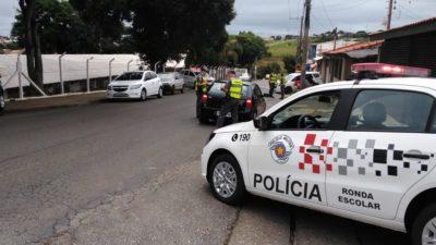 Polícia Militar e Guarda Municipal realizam operação de volta às aulas
