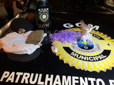 Guarda Municipal detém adolescentes com drogas no Jardim Maringá