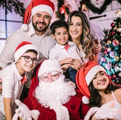 Ensaios natalinos na Vídeo Lopes