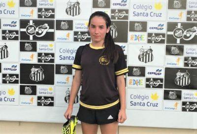 Estudante itapevense faz teste no Santos FC