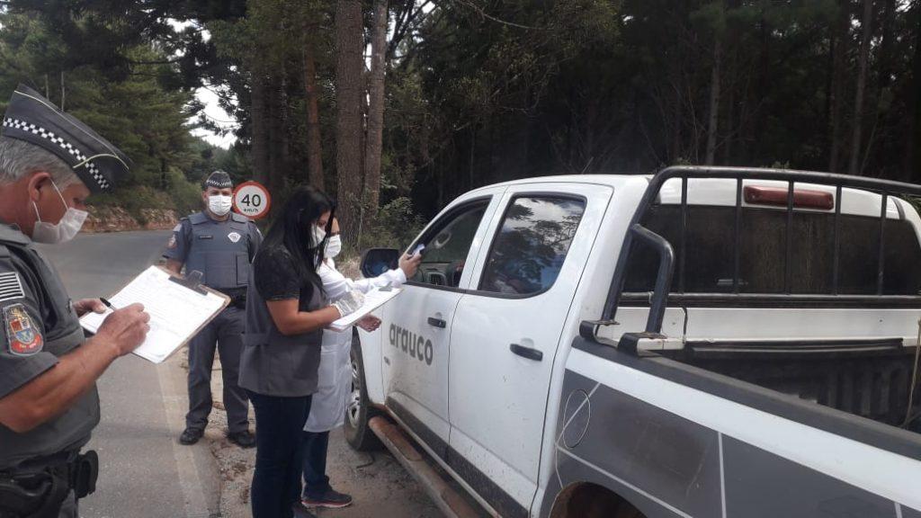 Coronavírus: Bom Sucesso de Itararé analisa pessoas que entram na cidade
