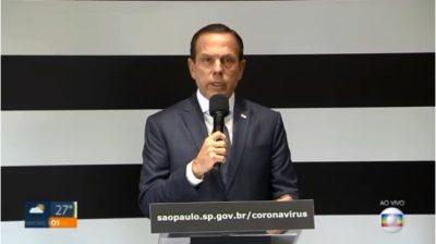 Governo de SP pede isenção do pagamento da conta de luz para famílias de baixa renda até 30 de julho