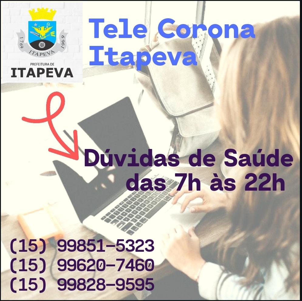 """Secretaria de Saúde disponibiliza """"Tele Corona"""" para orientar a população"""
