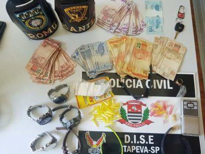 Operação conjunta da Polícia Civil e Guarda Municipal apreende drogas na Vila Dom Bosco