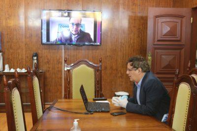 Prefeitura de Itapeva participa de videoconferência com representantes do Condersul