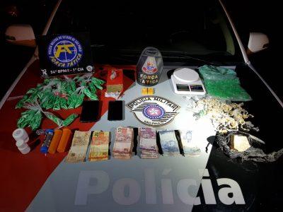 Força Tática detém traficantes em Itapeva