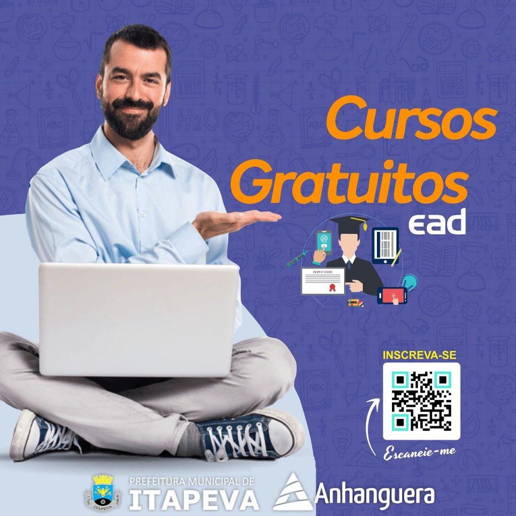 Faculdade Anhanguera oferece cursos extensivos gratuitos, com apoio da Prefeitura de Itapeva