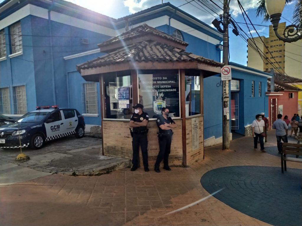 Prefeitura reativa a Base Centro da Guarda Civil Municipal de Itapeva no Calçadão Dr. Pinheiro