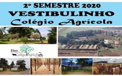 Colégio Agrícola oferece vagas de Técnico em Administração e Agronegócios
