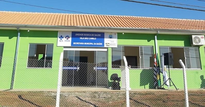 Secretarias de Saúde e de Obras inauguram a UBS da Vila São Camilo em sede própria