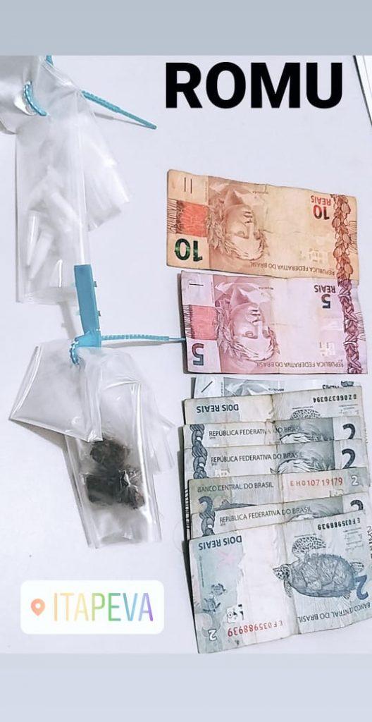 GCM prende indivíduo vendendo drogas na Praça de Eventos