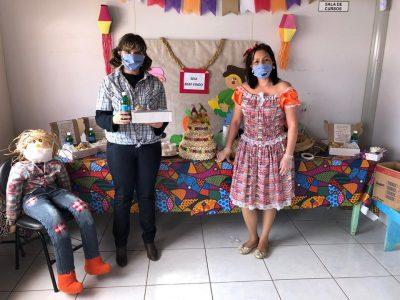 Casa do Adolescente realizou festa julina online no mês de julho