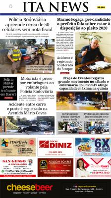 Edição 1.100 do Jornal Ita News – Clique para ler