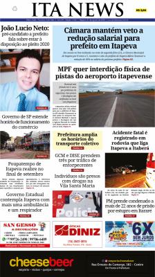 Edição 1.102 do Jornal Ita News – Clique para ler