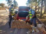 Cerca de 210 quilos de maconha são apreendidos pela Polícia Rodoviária