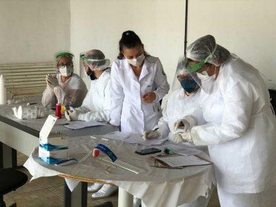 Secretaria da Saúde já realizou mais de 1.800 testes rápidos em servidores da linha de frente