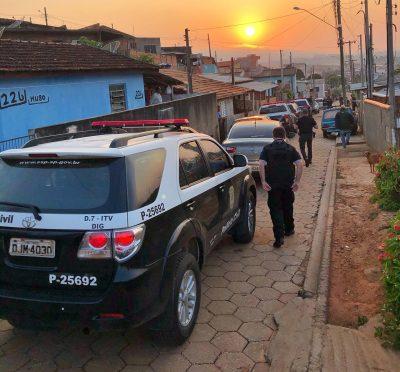 Operação da Polícia Civil prende suspeitos de tentativa de homicídio em Itaberá