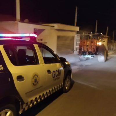 Mais três bairros foram pulverizados pela Prefeitura de Itapeva