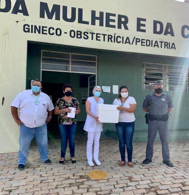 177 doses da Coronavac chegaram em Itaberá