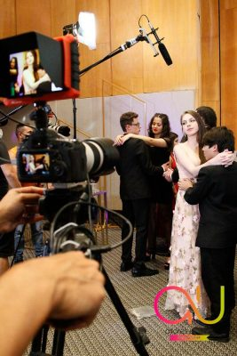 Jovens da região participam de série de TV