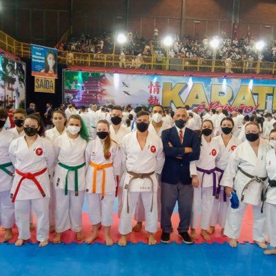 Academia de Karatê Kiôdai conquista 12 medalhas para Itapeva no 28º Grand Prix de Karatê Interestilos