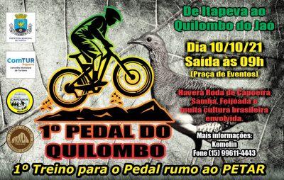 1º treino oficial para o 9º Cicloturismo rumo ao Petar será dia 10 de outubro
